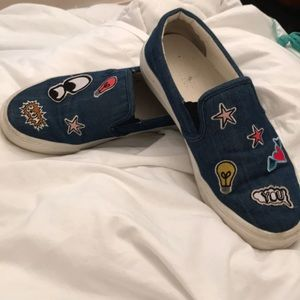 Zara Sneakers With patches